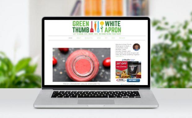 Green Thumb White Apron Foodie Blog